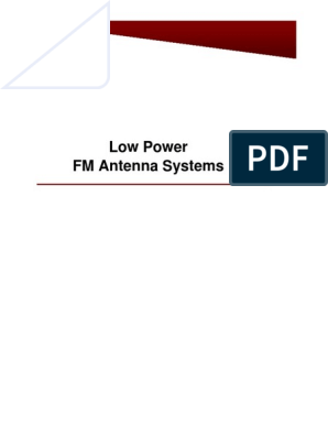 FM Broadcast Antenna 87.5-108Mhz Circular Polarized 1500W High Power Din Female
