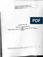 Technical Specification Pages 1 to 24 - Flue Gas Duct