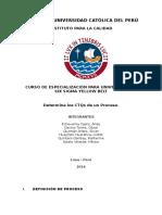 CTQ's de Proceso de Ensuelado de Calzados