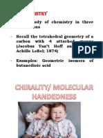 Stereo Chemistry 3