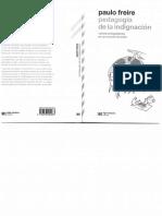 Pedagogia de La Indignacion - Paulo Freire
