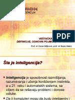 08 Vestacka inteligencija - definicije, osnovni pojmovi, paradigme.ppt