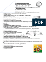 Diagnostico Ciencias 2 Combinado Con Mate
