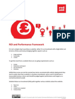 ROI and Performance Framework