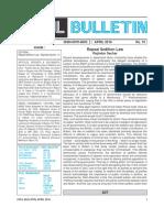 2016 Apr PUCL Bulletin