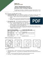 Basic Knowledge on Soil (Laboratory Aide Training Program).docx