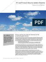 EY Law Privacy Security Update Special Cloud Edition (August 2016)