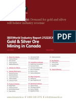 21222CA Gold & Silver Ore Mining in Canada Industry Report