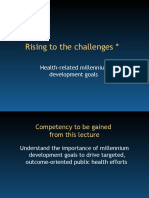 Health Related MDG 1