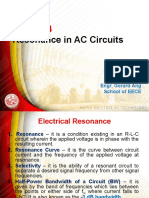 AC Circuits Resonance