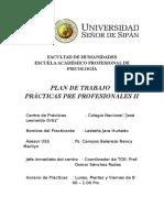 Formato Plan de Trabajo-educativa