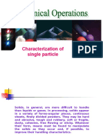 Characterization of Single Particle