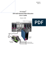Din Rail Mounted FBM Subsystem Users Guide