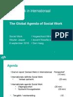 The Global Agenda of Social Work