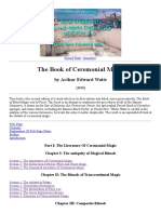 Book of Ceremonial Magic Index