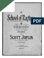 School Ragtime by Scott Joplin