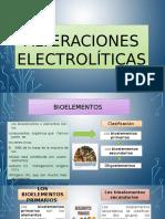 Alteraciones electrolíticas corregidas