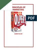 Marketing Report...