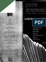 Trigo- Fronteras de La Epistemología. Epistemología de La Frontera