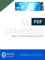 Master en Business Intelligence y Big Data (Titulación Universitaria + 60 Créditos ECTS)