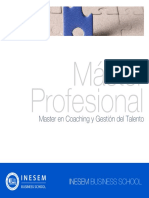 Master en Coaching y Gestión del Talento