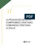 05 La Pedagogía de La Fe - La Salle