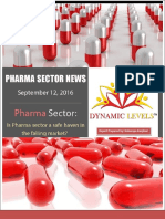 Report on Pharma Sector