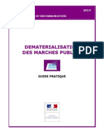 Guide Pratique Dematerialisation Mp