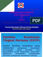Penatalaksanaan 155 Dignosa Di Fktp 28052016 Final