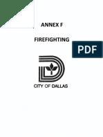 Annex F - Firefighting (2015)