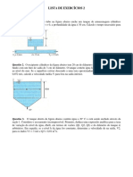 Mecânica dos Fluidos LISTA+DE+EXERCÍCIOS+1