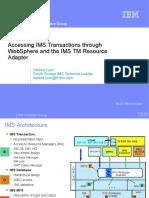 Hl_Accessing IMS Using JCA
