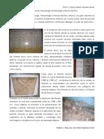 INFORME MUSEO NACIONAL DE ARQUEOLOGIA