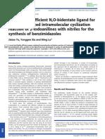 [6] Yu Et Al-2014-Applied Organometallic Chemistry