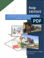 Fortalecimiento de Las Capacidades Para El Desarrollo Del Proceso de Gestión Y Manejo Del Territorio en El Distrito de Alto de La Alianza