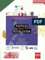 Papeles_Revolución de Mayo