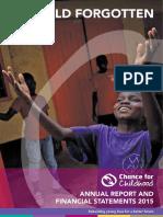 CfC Annual Report 2015