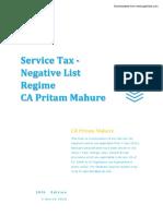 Service Tax - PDF e Book - 10th Edn- CA Pritam Mahure