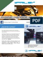 Catalogo Motos Eléctricas April Ev (1)