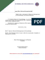 Manual de Biosseguranca Em Fonoaudiologia CFFa