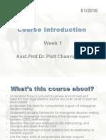 Introduction to decision management