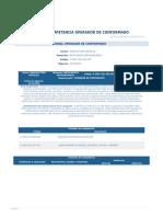 Perfil Competencia Operador de Conformado