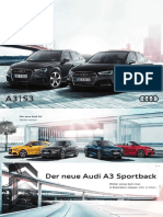 Audi A3 and S3 from 2016 (German Market)
