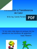 Introducción a Transferencia de Calor