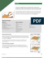 How to lay laminated flooring