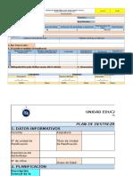 Formatos de Planificación SDS 2016_2017