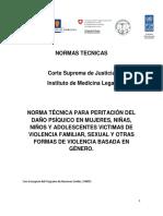 2- Anexo 1- Normativa de Medicina Legal Para Peritar en Casos de Violencia Intrafamiliar y Sexual