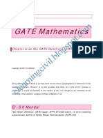 GATE Maths Qs All Branch Mondal