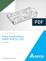 Manual InsightPower SNMP IPv6 for UPS en Us(1)