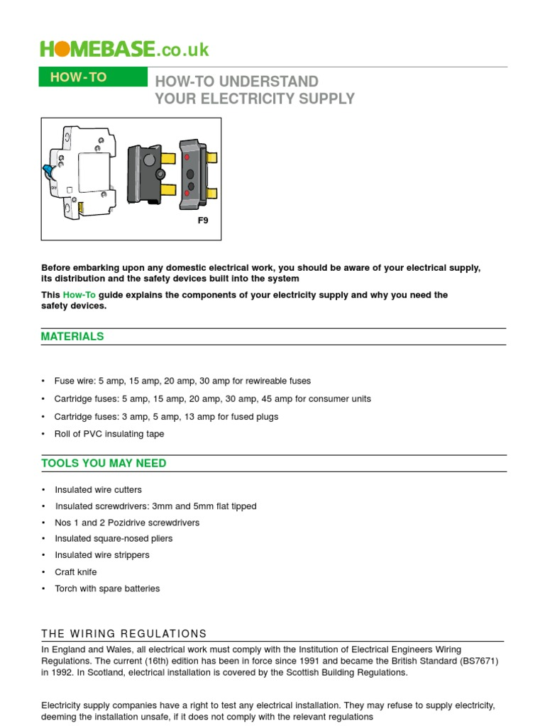 How To Understand Electricity Fuse Electrical Wiring Carrier Blowing 3 Amp